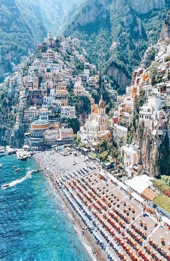 Positano Italy Reisen Italien Reisen