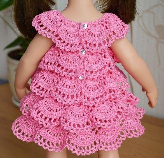 Cursos Gratis De Vestidos Para Niñas De Crochet Paso A Paso