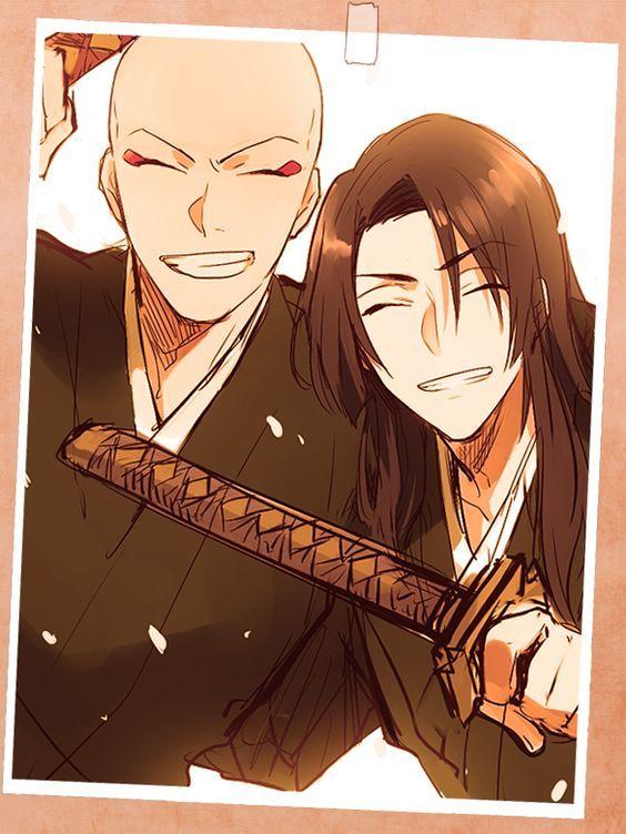 Ikkaku and Yumichika