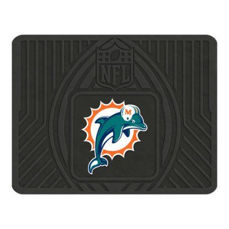 FanMats NFL Utility Mat, Miami Dolphins, Multicolor