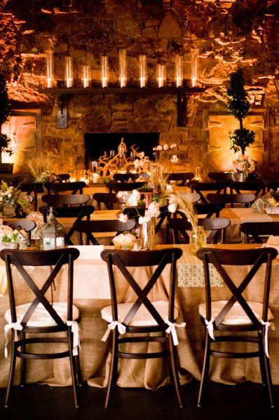 reception setting