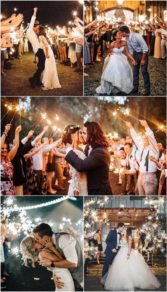 10 Wedding Send Off Ideas to Add Magic to your Wedding - WedNova Blog