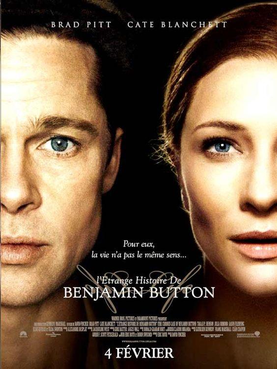 """L'Etrange histoire de Benjamin Button est un film de David Fincher avec Brad Pitt, Cate Blanchett. Synopsis : """"Curieux destin que le mien..."""" Ainsi commence l'étrange histoire de Benjamin Button, cet homme qui naquit à 80 ans et vécut sa vie à l'enve"""