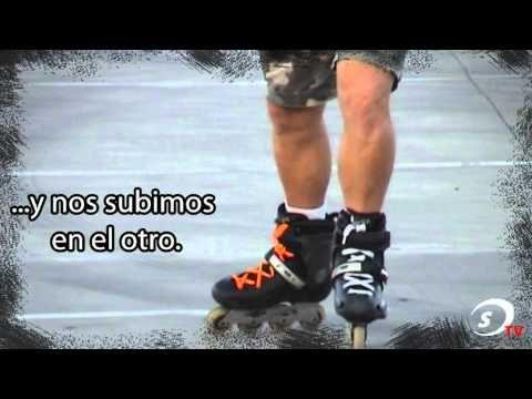 Escuela de patinaje SPORTIA - Lección 3º Avance Basico dos