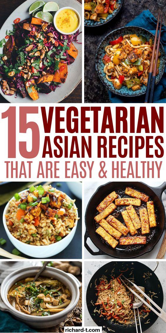 15 Healthy Vegetarian Asian Recipes