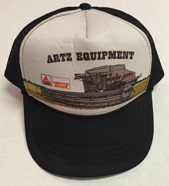 Vtg Artz Equipment Trucker Hat Combine Farming Agriculture Aberdeen South Dakota | eBay #artzequipment #abeerdeen #southdakota #sd #farming #combine #agriculture #vtg #hat