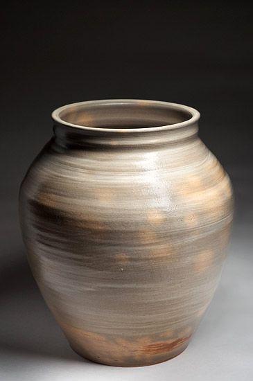 Cerámica de Stefan Andersson en Studiopottery.co.uk - 2012. Vase - Gres, deslizamiento, esmalte (Altura: 31 cm)