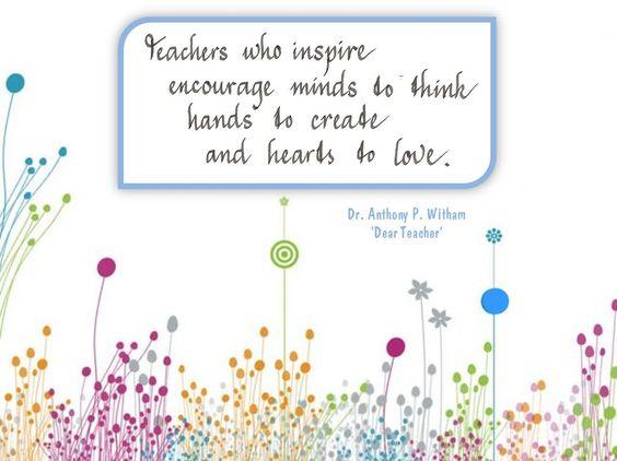 Teaching Quotes Pinterest: INSPIRING TEACHERS Quotes