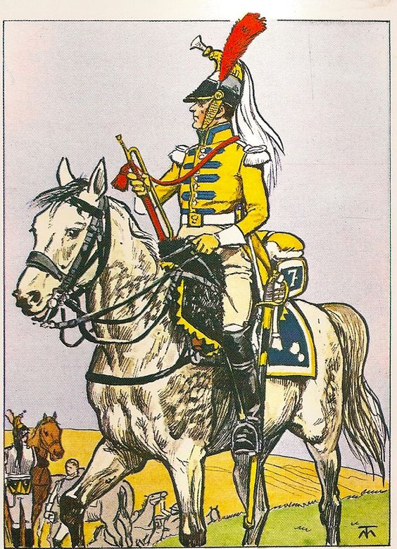 French; 7th Cuirassier Regt, Trumpeter, 1805-09
