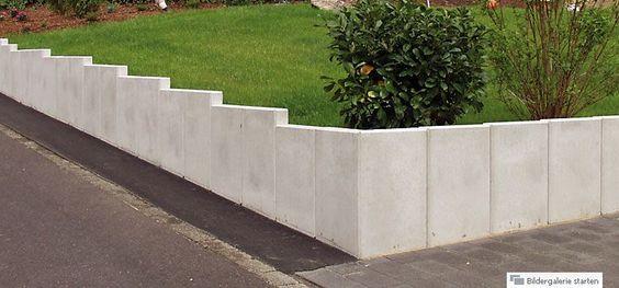 U-Steine, L-Steine, Mauerscheiben Outside Pinterest Steine - mauersteine antik diephaus
