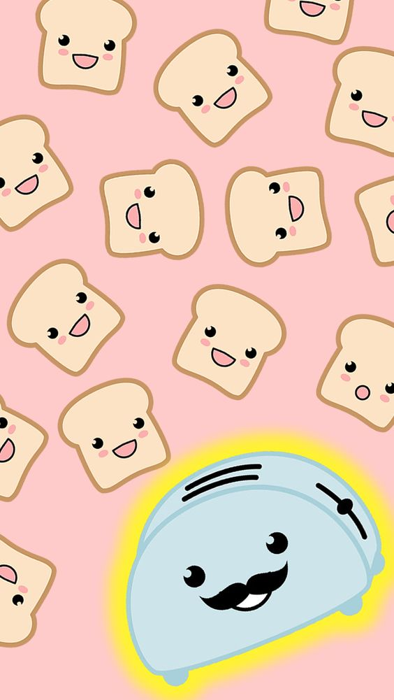 iPhone 5 Wallpaper I got toasters but no toast!! @Melissa Jacqueline: