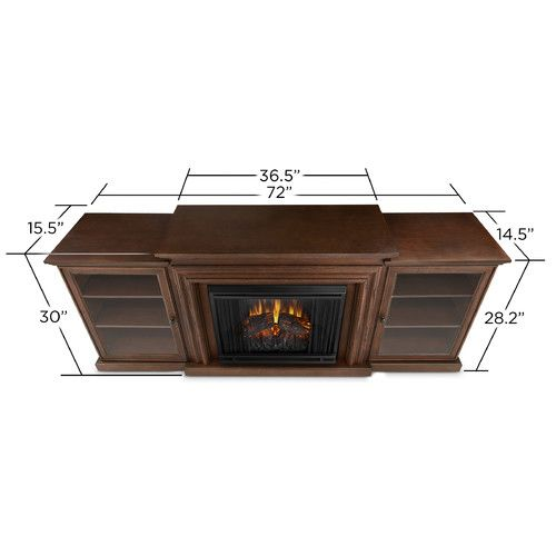 Found it at Wayfair - Frederick TV Stand with Electric Fireplace