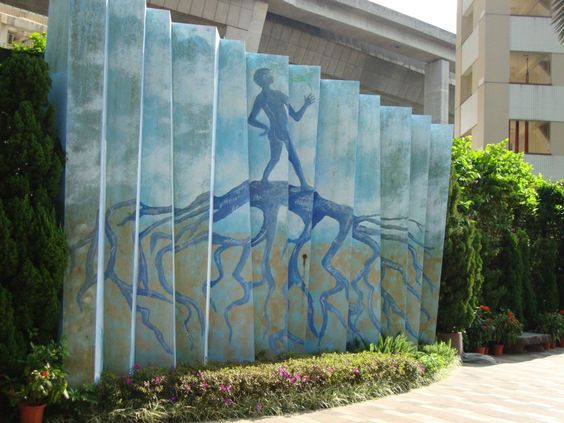 3D Painting, Street Art, Noah's Ark