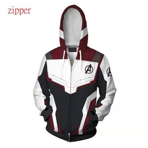 Avengers 4 Endgame Advanced Tech Hoodies Men T-shirt Sweatshirts Sweater Jacket