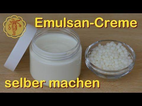 Emulsan Creme Selber Machen Grundrezept Youtube Kosmetik