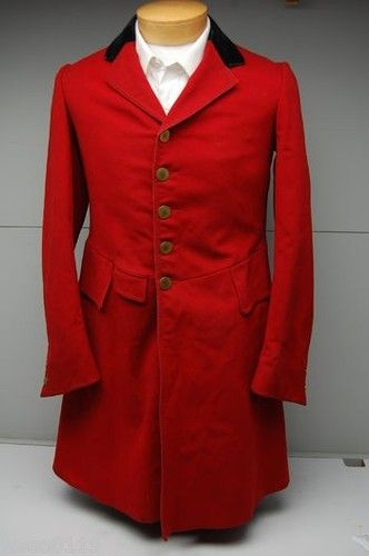 Red Hunt Coat