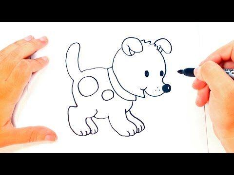 Como Dibujar Un Perrito Paso A Paso Dibujo Facil De Perrito Youtube Como Dibujar Un Perro Dibujos Faciles De Perros Perros Para Dibujar Faciles