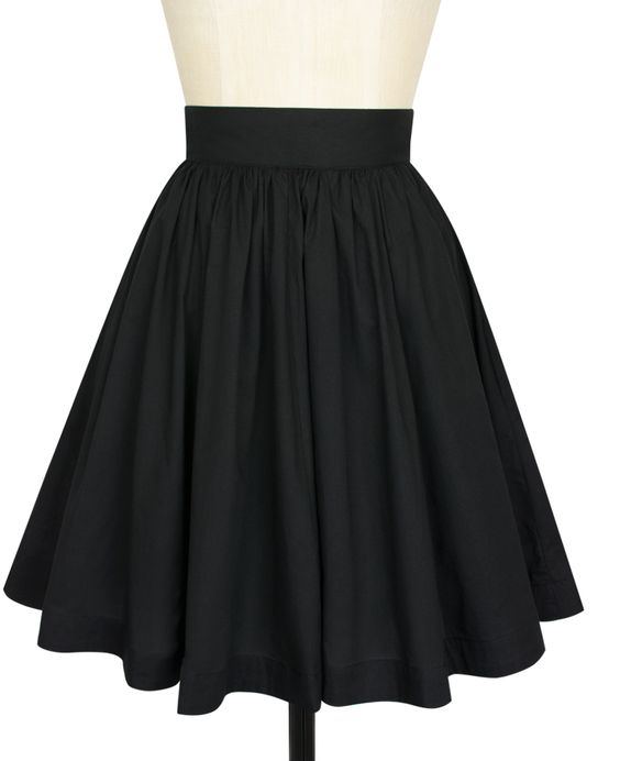 The Trashy Diva Gathered Mini Skirt is now available in Black Voile!