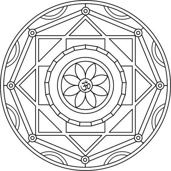Dibujo Cerca De Mandalas Buscar Con Google Mandala