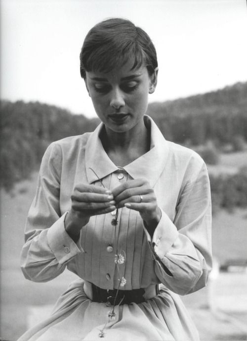 Audrey Hepburn, date unknown. Photo by Emil Schulthess.