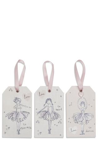 Buy Set Of 3 Amelia Ballerina Wall Tags from the Next UK online shop