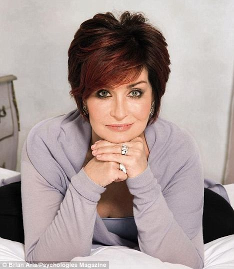 Sharon Osbourne - I just love this lady.  Her sense of humor and zest for life.