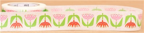 tulip flower mt Washi Masking Tape deco tape