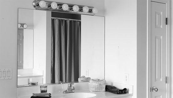 Mirror, Bathroom mirrors and How to remove on Pinterest