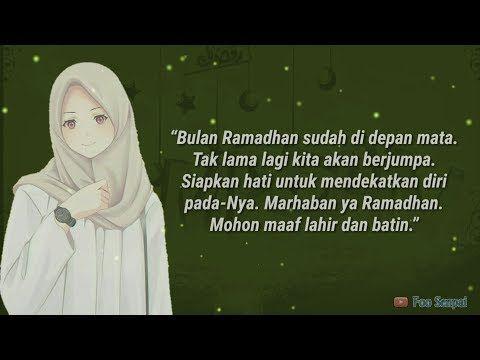 Ramadhan Sebentar Lagi Tiba Kata Kata Indah Untuk Menyambut Bulan