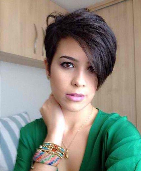 Elige algo nuevo! ¡Cortes de pelo corto asimétricos que destacan del resto!