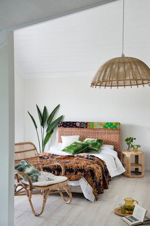 アジアン 寝室 チェア コーディネート例