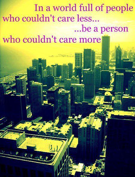 I care. Do you?
