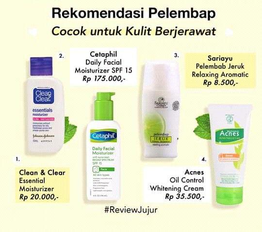 Clean N Clear Essential Moisturizer Untuk Jerawat