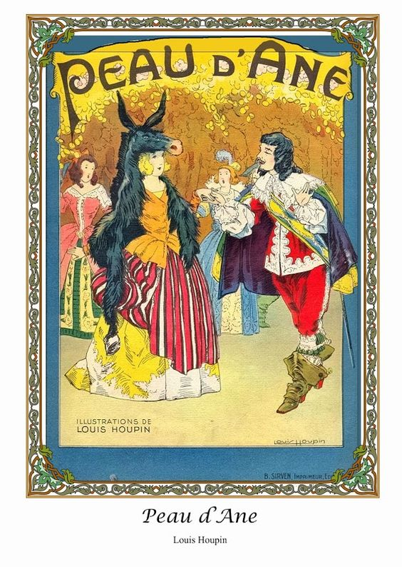 """Peau d'Âne"" - Ill. Louis Houpin"