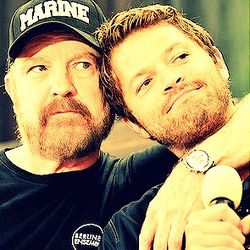Jim Beaver and Misha Collins ~ Supernatural