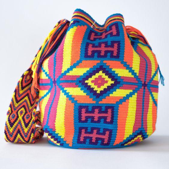 Handmade Wayuu Boho Bags | WAYUU TRIBE Crochet Patterns, Fair Trade – WAYUU TRIBE | Handmade Wayuu Mochilas Boho Bags:
