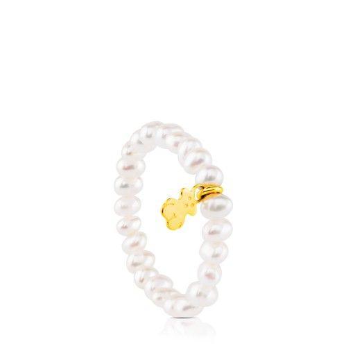 Anillo TOUS Pearls de Oro