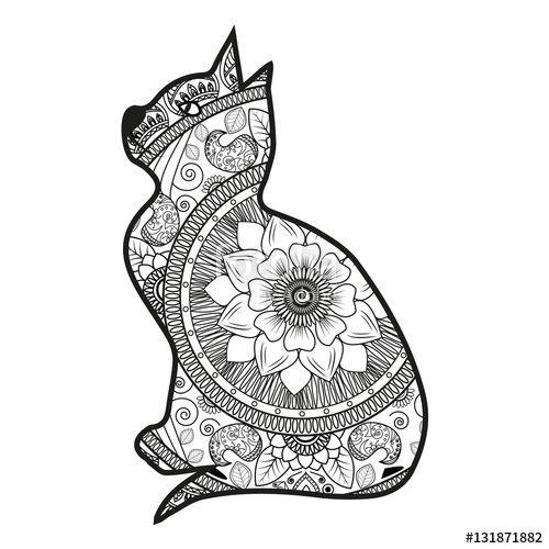 Risultati Immagini Per Gatti Da Colorare Colori Immagini