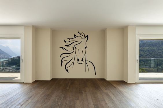 912 - Horse Wall Decal Sticker Graphic Mural