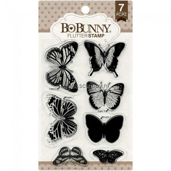 Bo Bunny Stamp Flutter