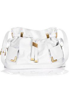 Michael Kors Ruched self-tie shoulder bag  | NET-A-PORTER