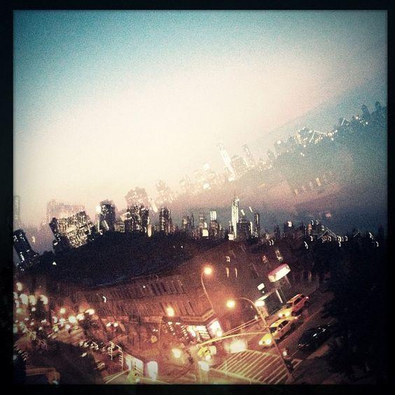 Double Exposure Rooftop Photography, via McMillian + Furlow