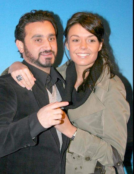 Cyril Hanouna et sa femme Emilie.