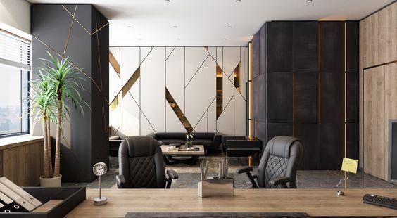 модернизм в дизайне офиса
