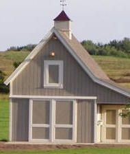 Barns monitor and shop plans on pinterest for Small monitor barn