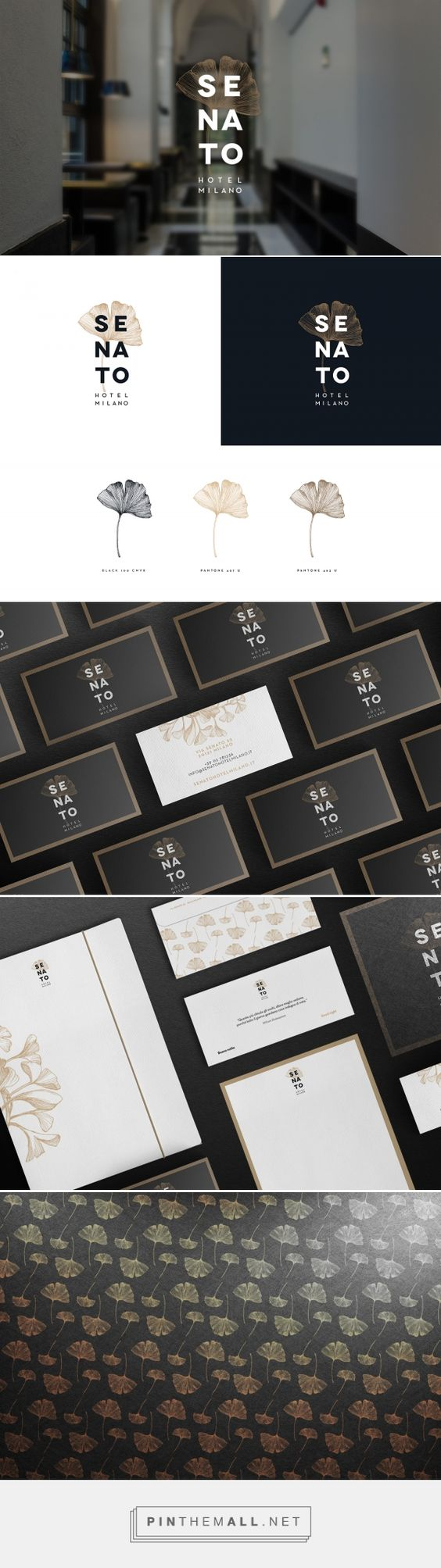 Senato Hotel Milano on Behance... - a grouped images picture - Pin Them All
