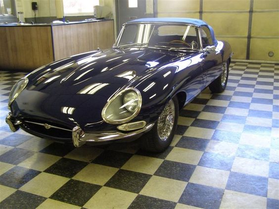 Jaguar E-Type by City Imports in Glen Burnie MD . Click to view more photos and mod info.