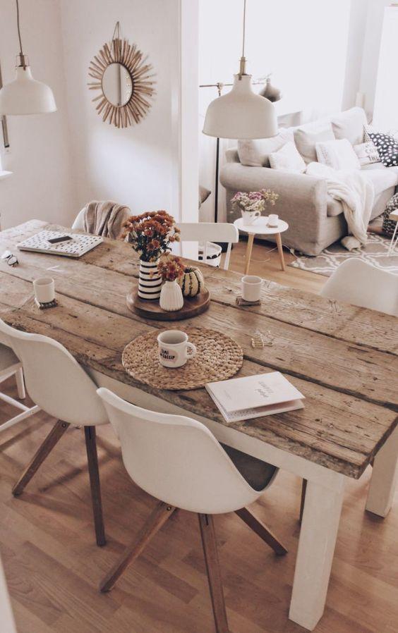 Le Style Boheme En Decoration Traits D Co Arredamento Sala Da Pranzo Soggiorno Scandinavo Interior Design Per La Casa