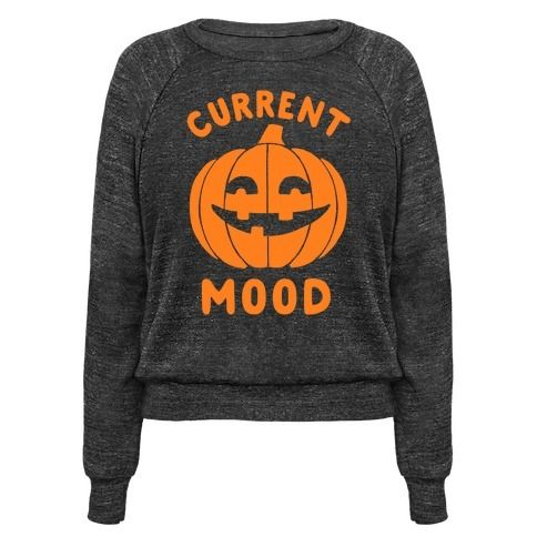 This halloween shirt is great for fall lovers and halloween fanatics who just can't get enough spoop and spooky time because current mood: halloween. This pumpkin shirt is perfect for fans of halloween jokes and halloween memes.: