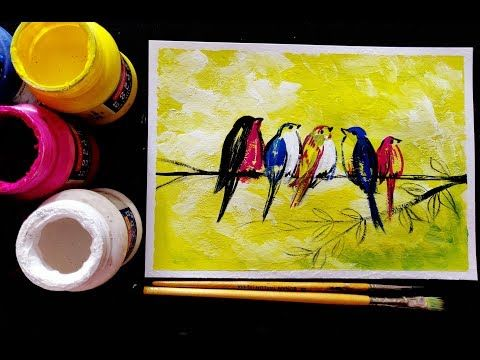 Easy Poster Colour Painting For Beginners Step By Step Tutorial Youtube In 2020 Poster Color Painting Painting Poster Colour